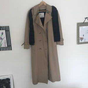 Double Breasted London Fog Jacket